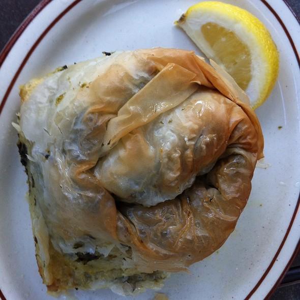 Spinach Pita @ Olympia Kebob House & Taverna