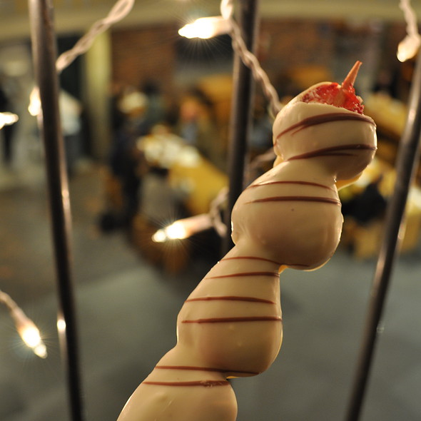 Chocolate-Covered Strawberry Kabob @ Berry Twist