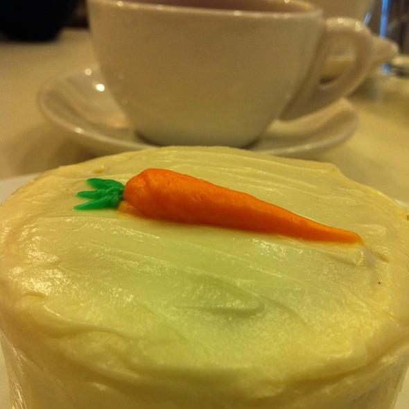 Carrot Cake With Darjeeling Tea
