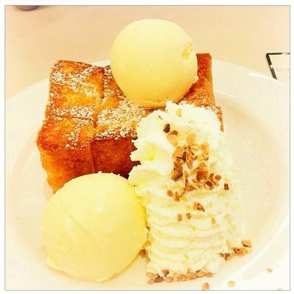 Shibuya Honey Toast @ after you dessert café | siam paragon