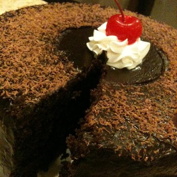 Moist Chocolate Cake @ Totsy's Cakes & Pastries @ Valencia, Bukidnon, Mindanao