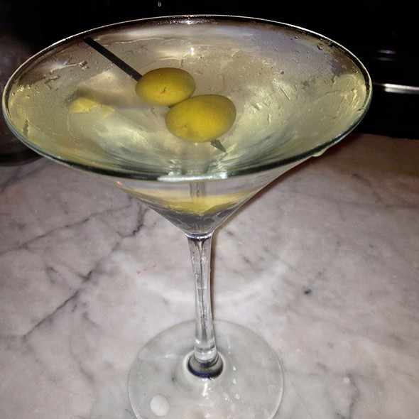 Hendrick's Dirty Martini