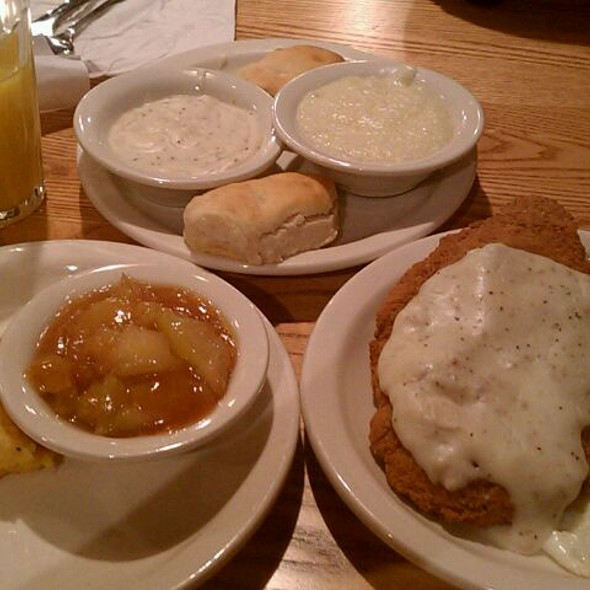 Grandpa's Fried Breakfast @ Cracker Barrel