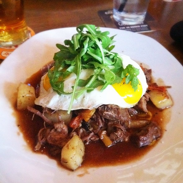 Braised Leg Of Lamb And Root Vegetable Hash - fadó Irish Pub & Restaurant - Atlanta, Atlanta, GA