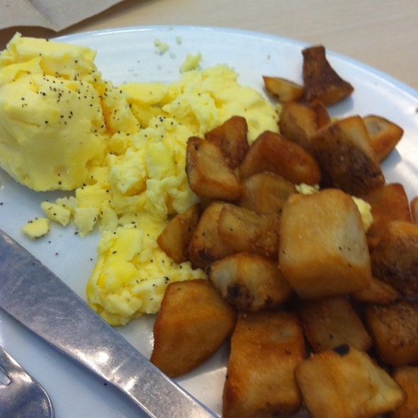 potatoes and eggs @ IKEA Paramus, NJ