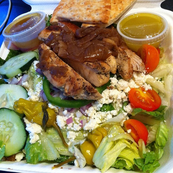 Greek Salad @ Zoës Kitchen