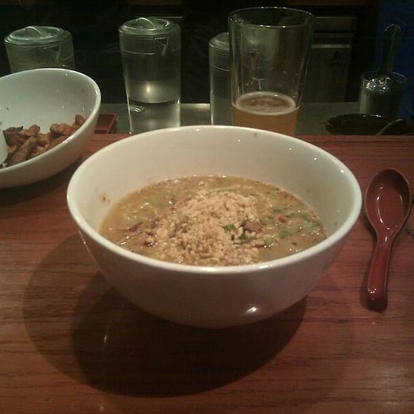 Pork Ramen In Peanut Cilantro Soup @ Noodle Theory