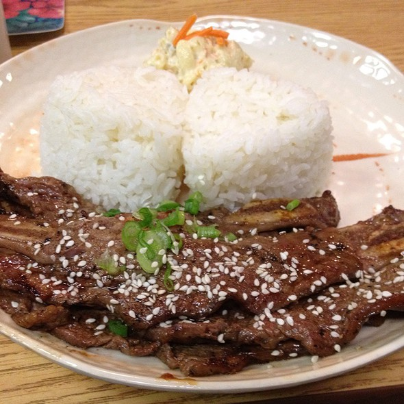 Korean Short Ribs   @ Pac Island Grill