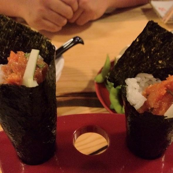 Spicy Tuna Hand Roll @ Miyabi Restaurant