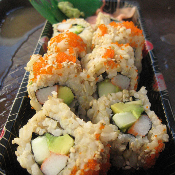 California Roll @ Iron Sushi