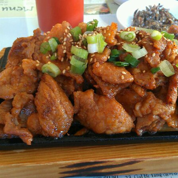 Spicy Pork (Dae Ji Bul Kogi) @ Manna