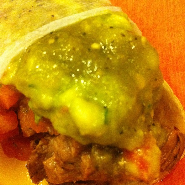 Carne Asada Taco With Guacamole @ Dos Toros Taqueria