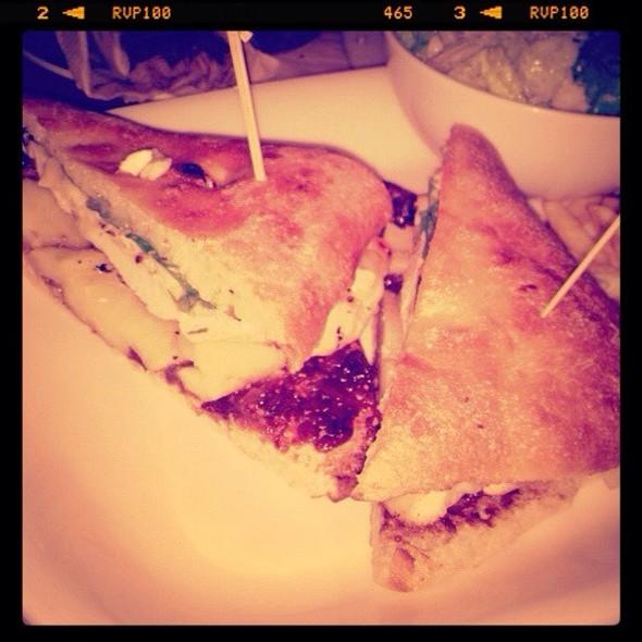 Bree Cheese, Pears, Cinammon And Chicken Sandwich @ Earls Restaurant
