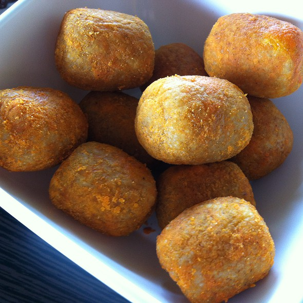 Cheesy Chicken Balls @ Ideal Cafe & Grill