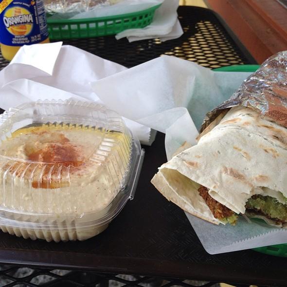 Falafel Wrap @ Robee's Falafel