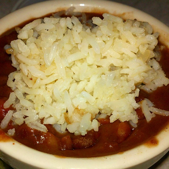 Miller's Red Beans & Rice @ BB's Cafe