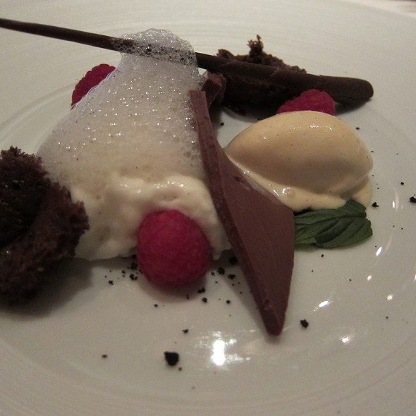 Delice of Rasberry and Chocolate