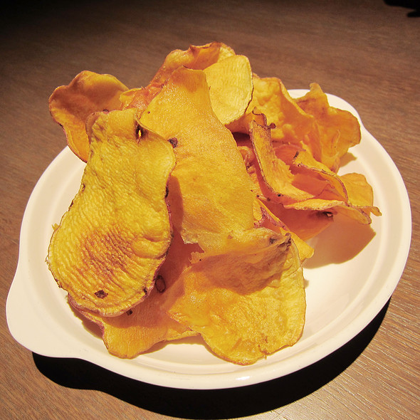 Sweet potato chips @ The PlayGround