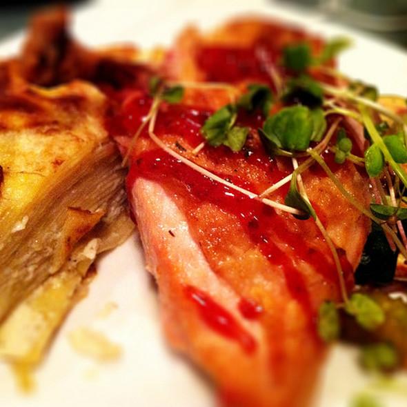 Roast Chicken with potato/leek tart @ d'lish Urban Kitchen