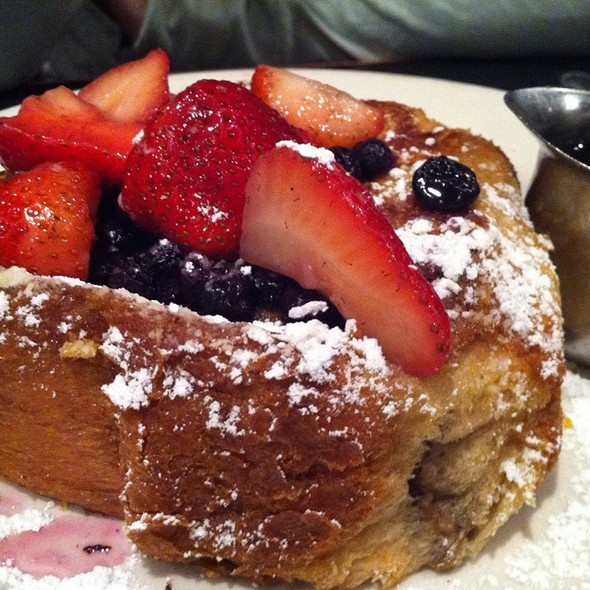 Stuffed French Toast @ Zaftigs Delicatessen