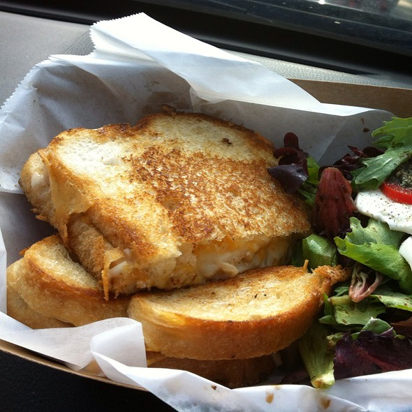 Lobster Grilled Cheese Sandwich @ Devilicious Food Truck
