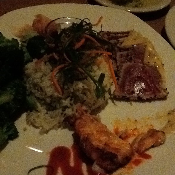 Seared Tunna And Lobster Spring Rolls @ Bonefish Grill - Johnson City