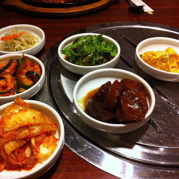 Assorted Korean Side Dishes @ Kaya