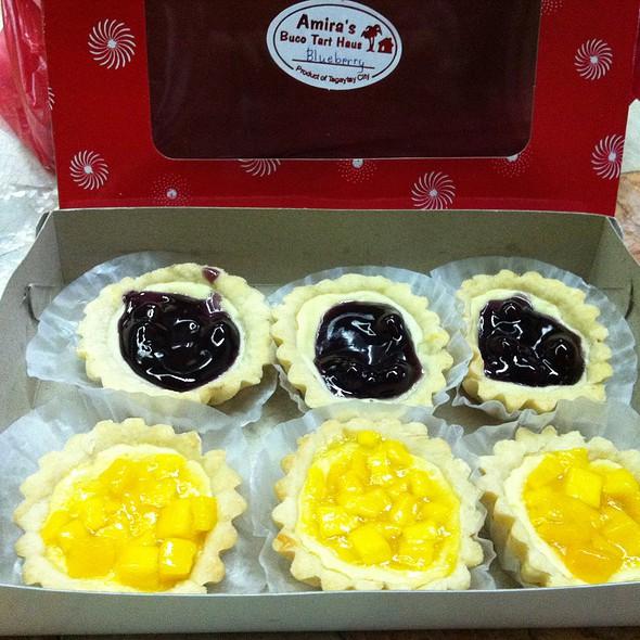 Blueberry & Mango Cheese Tarts @ Amira's Buco Tart Haus