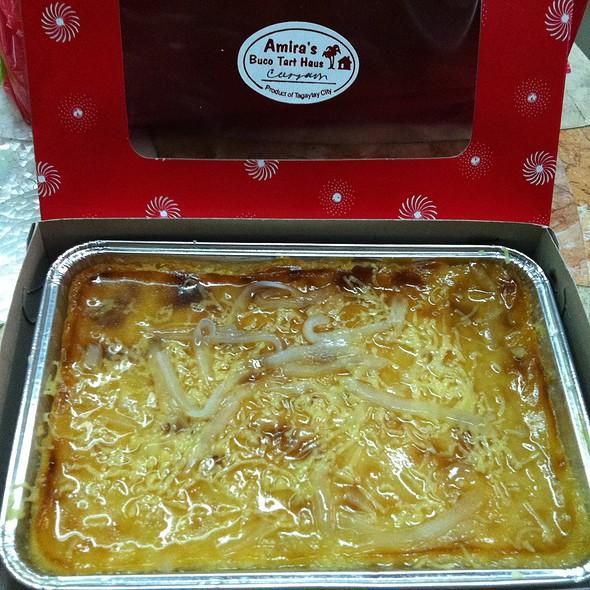 Casava Cake @ Amira's Buco Tart Haus