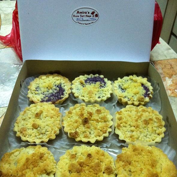 Ube Mango Buko Tarts @ Amira's Buco Tart Haus
