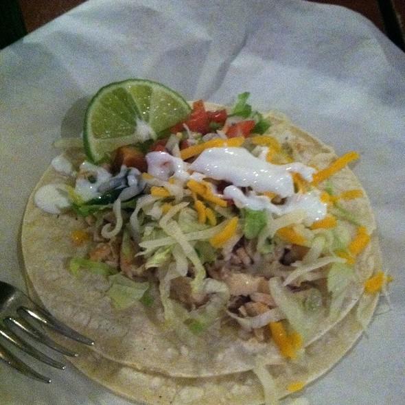 Chicken Taco @ Pancho Villa Restaurant
