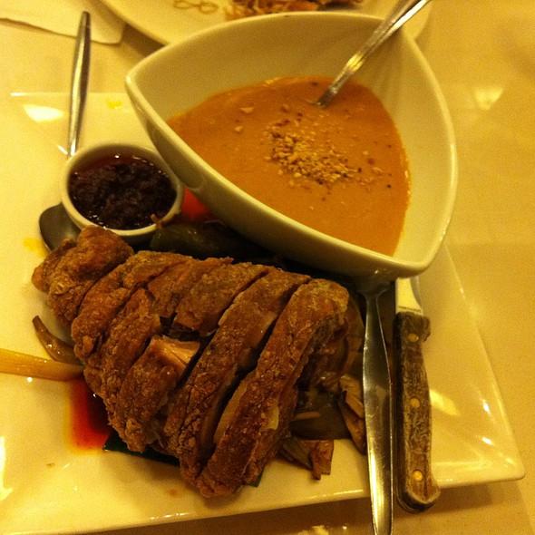 Crispy Pata Kare Kare @ C2 Classic Cuisine