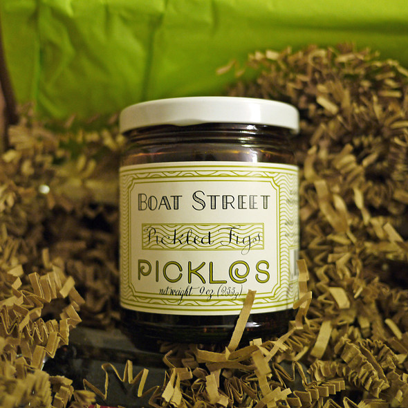 Pickled Figs @ Boat Street Cafe