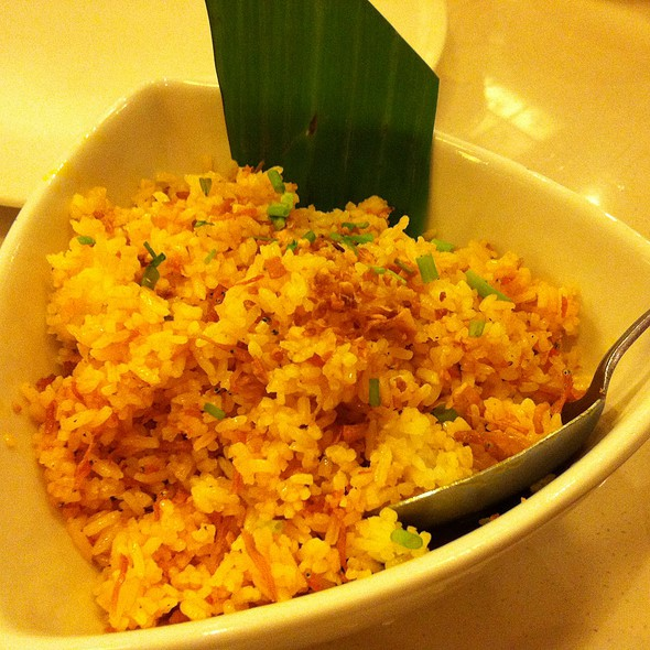 Dilis Fried Rice @ C2 Classic Cuisine