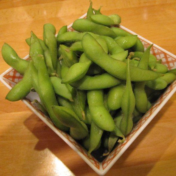 edamame @ Cha-Ya Vegetarian Japanese Restaurant