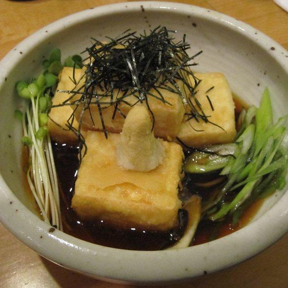Agedashi Tofu @ Cha-Ya Vegetarian Japanese Restaurant