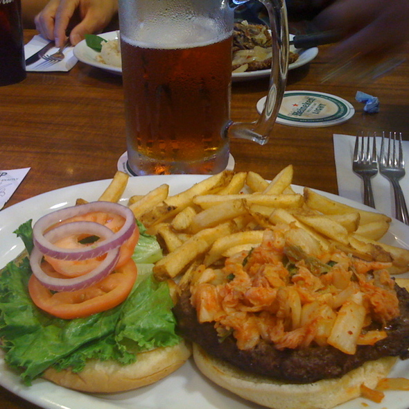 Kim Chee Burger @ Big City Diner Aiea