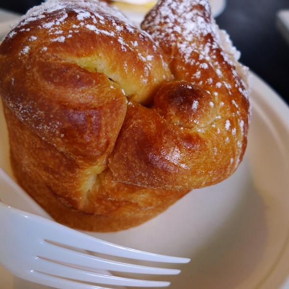 Rhubarb & Custard Brioche @ The Little Cake Kitchen Ltd