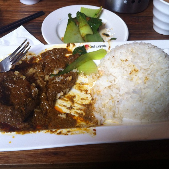 Curry Beef with Rice @ Laksa King Restaurant