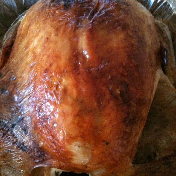 My First Brined Turkey  @ Kimi's Hale