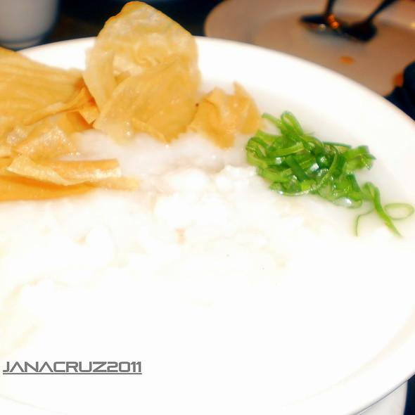 Fish Fillet Congee @ David's Tea House
