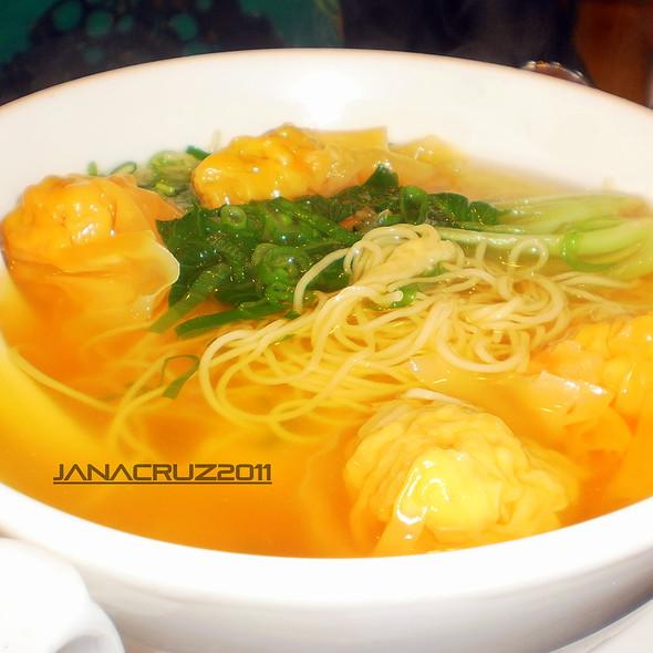 Wonton Noodle Soup @ David's Tea House