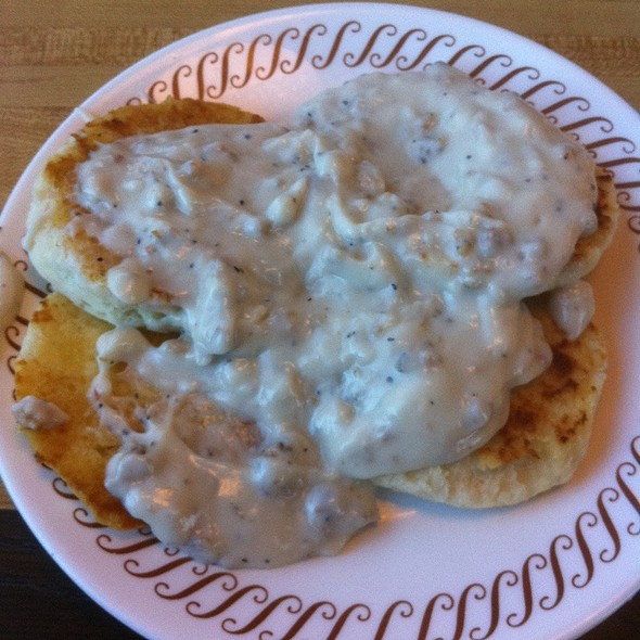Texas Biscuits & Gravy @ Waffle House
