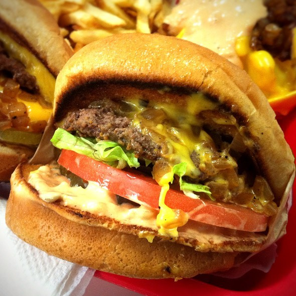 Cheeseburger Animal Style