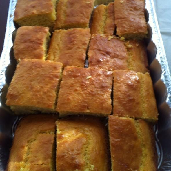 Corn Bread @ Fiance Uncles Place