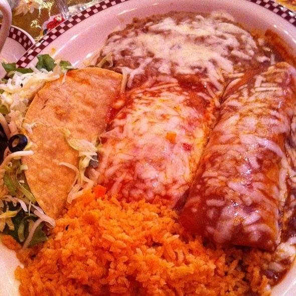 Iguana Plate @ Red Iguana Restaurant