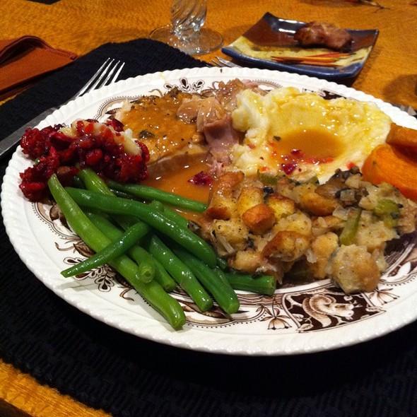 Thanksgiving Dinner @ Home