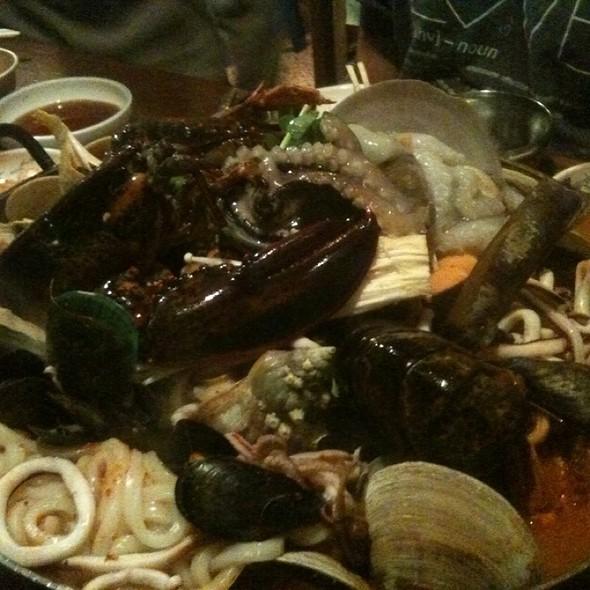 Fresh Octopus @ Sik Gaek Restaurant