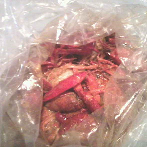 Cajun boiled crawfish @ Hot N Juicy Crawfish
