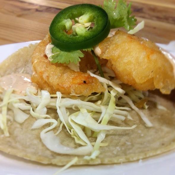 Wild Shrimp Tacos @ Cosecha
